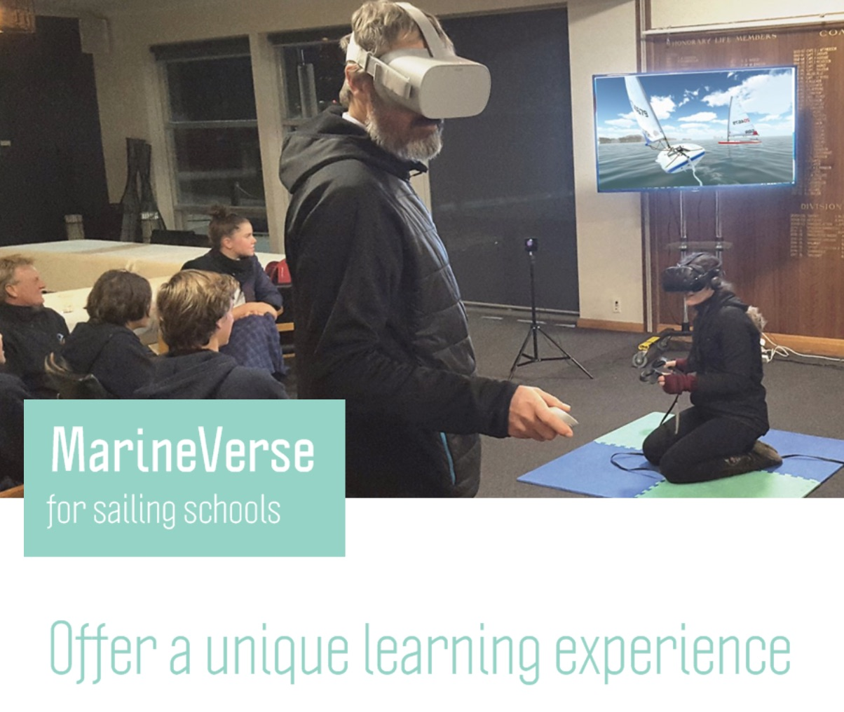 fb44166bfd7 Are you interested in using Virtual Reality as a training tool at your  sailing club  Do you want to attract new members